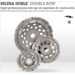Disco Diamante Hilera Doble