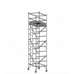 Torre móvil aluminio