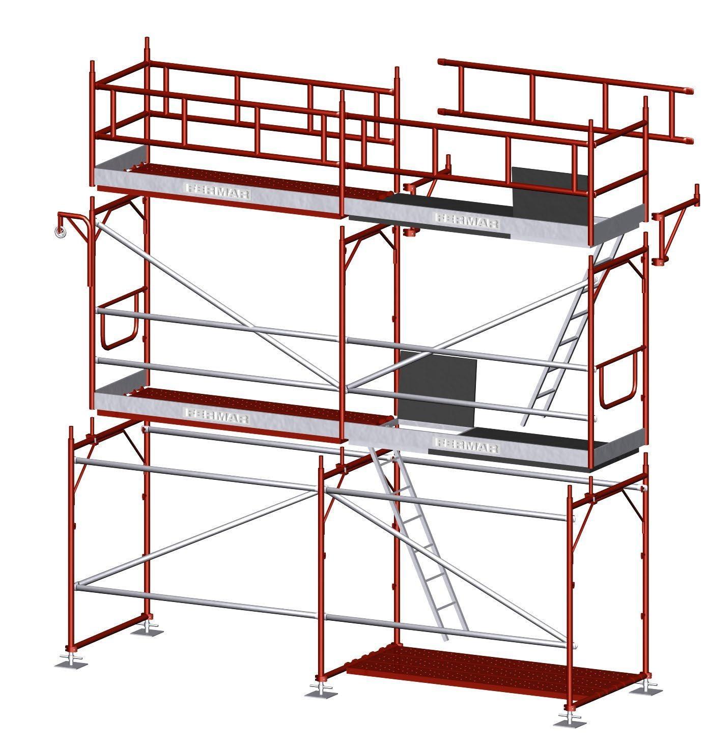 PACK ANDAMIO EUROPEO 9x7 mts (63 m2) - Belians Gestio s.l.